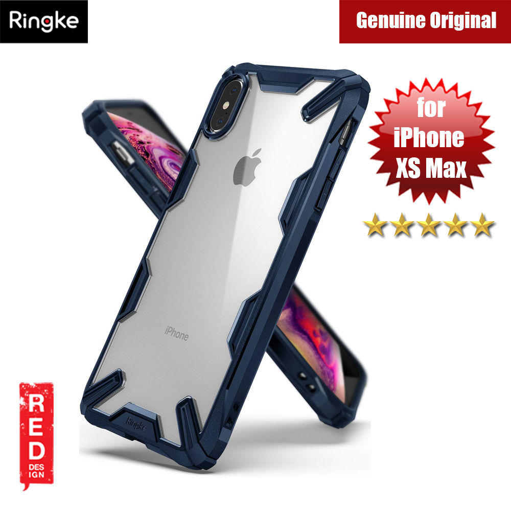 Picture of Ringke Fusion X Extreme Tough Protection Case for Apple iPhone XS Max (Blue) Apple iPhone XS Max- Apple iPhone XS Max Cases, Apple iPhone XS Max Covers, iPad Cases and a wide selection of Apple iPhone XS Max Accessories in Malaysia, Sabah, Sarawak and Singapore