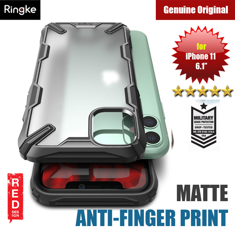 Picture of Ringke Fusion X Matte Anti Fingerprint Extreme Tough Protection for Apple iPhone 11 6.1(Matte Black) Apple iPhone 11 6.1- Apple iPhone 11 6.1 Cases, Apple iPhone 11 6.1 Covers, iPad Cases and a wide selection of Apple iPhone 11 6.1 Accessories in Malaysia, Sabah, Sarawak and Singapore