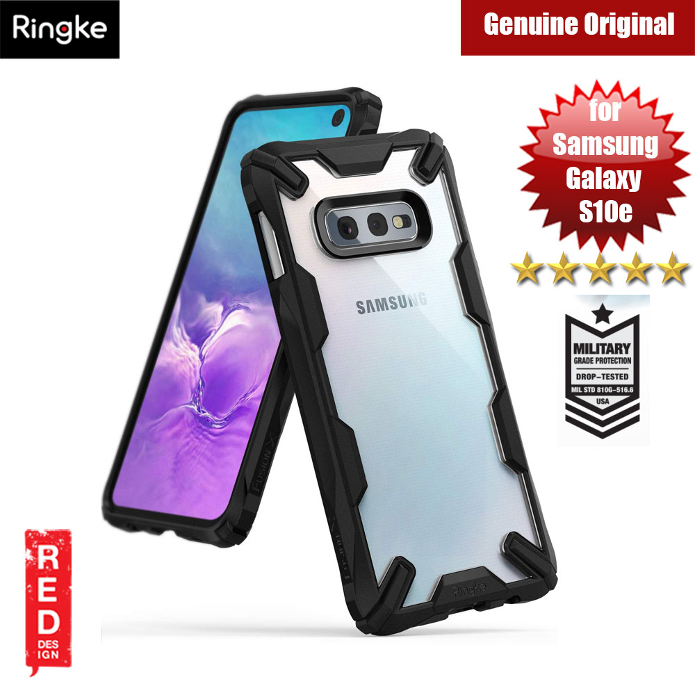 Picture of Ringke Fusion X Extreme Tough Protection Case for Samsung Galaxy S10e (Black) Samsung Galaxy S10e- Samsung Galaxy S10e Cases, Samsung Galaxy S10e Covers, iPad Cases and a wide selection of Samsung Galaxy S10e Accessories in Malaysia, Sabah, Sarawak and Singapore