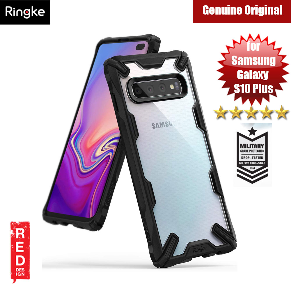 Picture of Ringke Fusion X Extreme Tough Protection Case for Samsung Galaxy S10 Plus (Black) Samsung Galaxy S10 Plus- Samsung Galaxy S10 Plus Cases, Samsung Galaxy S10 Plus Covers, iPad Cases and a wide selection of Samsung Galaxy S10 Plus Accessories in Malaysia, Sabah, Sarawak and Singapore