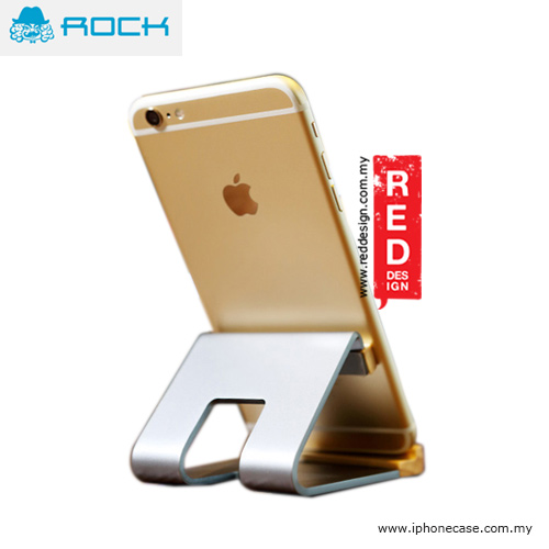 Picture of Rock Aluminum Metal and Wood Stand for Smartphone - Grey iPhone Cases - iPhone 11, iPhone 11 Pro, iPhone 11 Pro Max, iPhone 8, iPhone 8 Plus, iPhone XS Max, iPhone XR Cases Malaysia, Galaxy Note 10 Plus Cases Malaysia,iPhone 11 Pro Max Cases Malaysia, iPad Air ,iPad Pro Cases and a wide selection of Accessories in Malaysia, Sabah, Sarawak and Singapore.