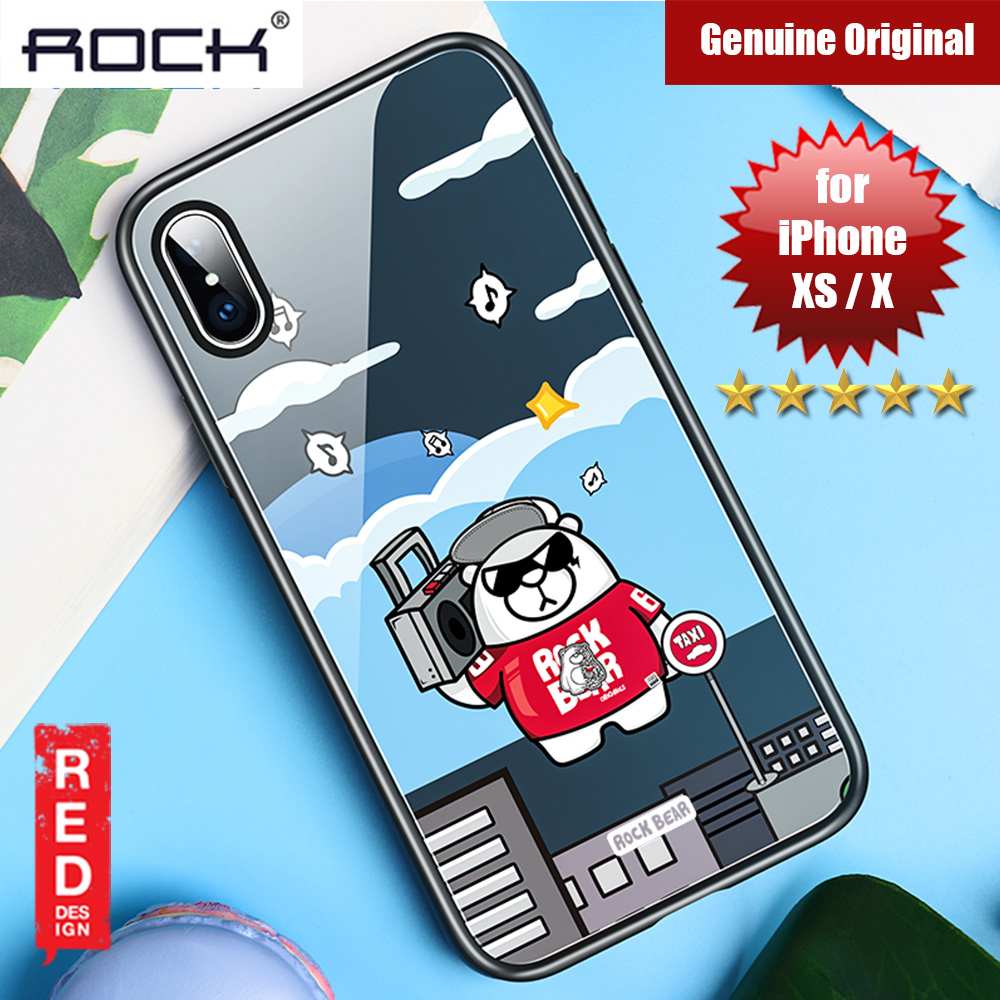 Picture of Rock Tempered Glass Case for Apple iPhone XS iPhone X (Music Bear) Apple iPhone X- Apple iPhone X Cases, Apple iPhone X Covers, iPad Cases and a wide selection of Apple iPhone X Accessories in Malaysia, Sabah, Sarawak and Singapore