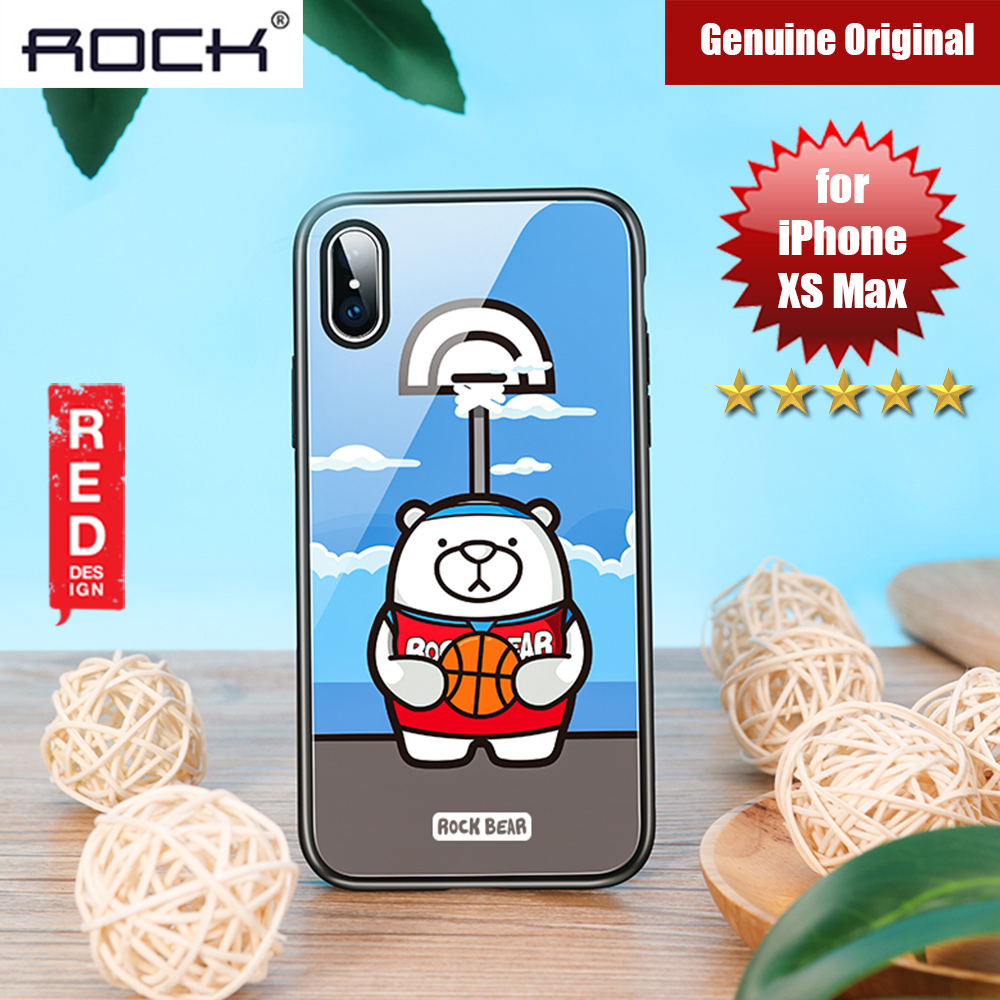 Picture of Rock Tempered Glass Case for Apple iPhone XS Max (Sport Bear) Apple iPhone XS Max- Apple iPhone XS Max Cases, Apple iPhone XS Max Covers, iPad Cases and a wide selection of Apple iPhone XS Max Accessories in Malaysia, Sabah, Sarawak and Singapore