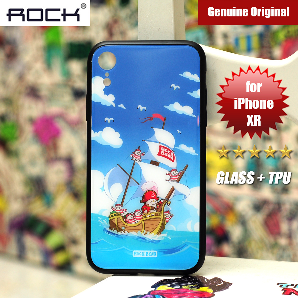 Picture of Rock Tempered Glass Case for Apple iPhone XR (Captain Bear) Apple iPhone XR- Apple iPhone XR Cases, Apple iPhone XR Covers, iPad Cases and a wide selection of Apple iPhone XR Accessories in Malaysia, Sabah, Sarawak and Singapore