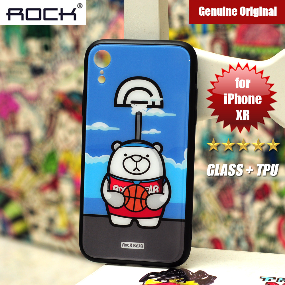 Picture of Rock Tempered Glass Case for Apple iPhone XR (Sport Bear) Apple iPhone XR- Apple iPhone XR Cases, Apple iPhone XR Covers, iPad Cases and a wide selection of Apple iPhone XR Accessories in Malaysia, Sabah, Sarawak and Singapore