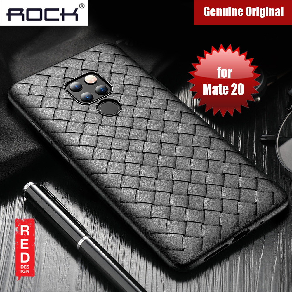Picture of Rock BV Series Woven Design Case for Huawei Mate 20 (Black) Huawei Mate 20- Huawei Mate 20 Cases, Huawei Mate 20 Covers, iPad Cases and a wide selection of Huawei Mate 20 Accessories in Malaysia, Sabah, Sarawak and Singapore