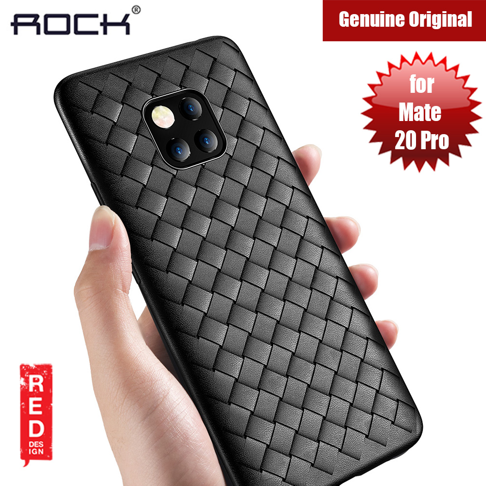 Picture of Rock BV Series Woven Design Case for Huawei Mate 20 Pro (Black) Huawei Mate 20 Pro- Huawei Mate 20 Pro Cases, Huawei Mate 20 Pro Covers, iPad Cases and a wide selection of Huawei Mate 20 Pro Accessories in Malaysia, Sabah, Sarawak and Singapore