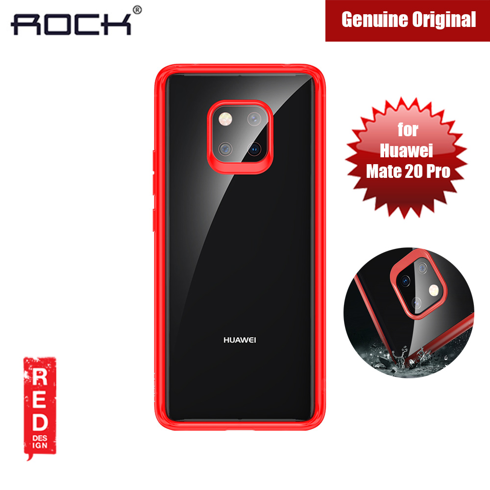 Picture of Rock Clarity Series Protection Case for Huawei Mate 20 Pro (Red) Huawei Mate 20 Pro- Huawei Mate 20 Pro Cases, Huawei Mate 20 Pro Covers, iPad Cases and a wide selection of Huawei Mate 20 Pro Accessories in Malaysia, Sabah, Sarawak and Singapore