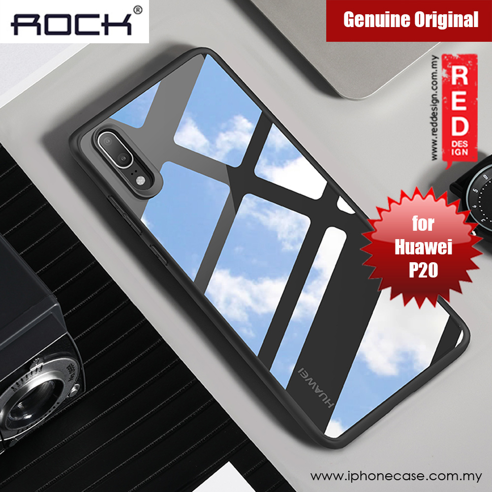 Picture of Rock Clarity Series Protection Case for Huawei P20 (Black) Huawei P20- Huawei P20 Cases, Huawei P20 Covers, iPad Cases and a wide selection of Huawei P20 Accessories in Malaysia, Sabah, Sarawak and Singapore