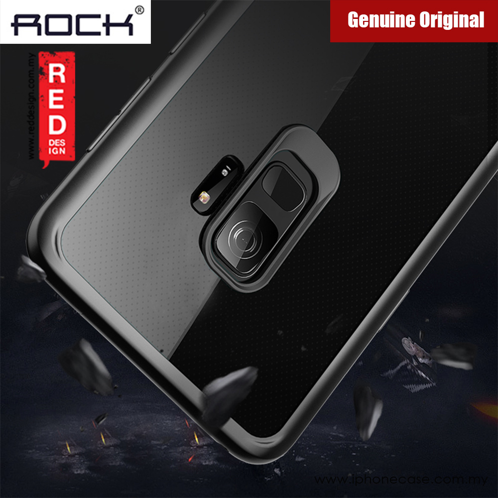 Picture of Samsung Galaxy S9 Case | Rock Clarity Series Protection Case for Samsung Galaxy S9 (Black)