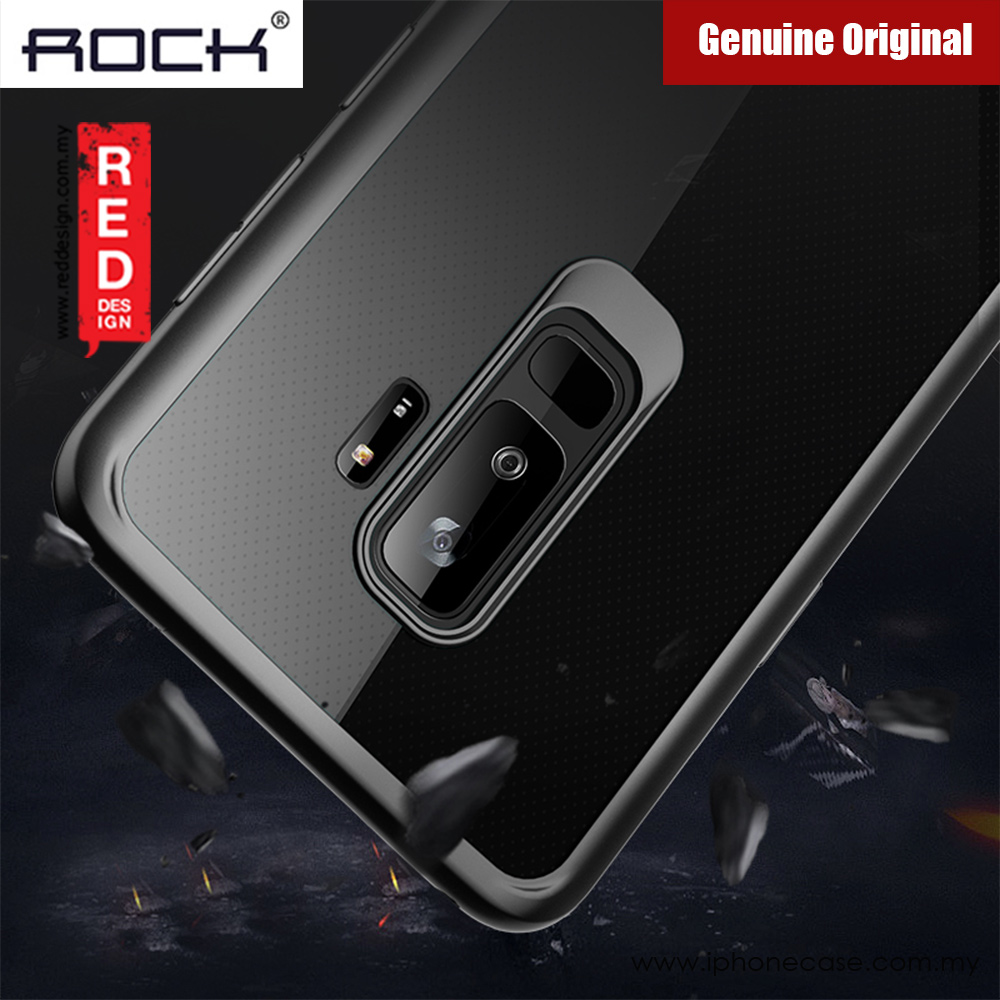 Picture of Rock Clarity Series Protection Case for Samsung Galaxy S9 Plus (Black) Malaysia Singapore: Samsung Galaxy S9 Plus- Samsung Galaxy S9 Plus Cases, Samsung Galaxy S9 Plus Covers, iPad Cases and a wide selection of Samsung Galaxy S9 Plus Accessories in Malaysia, Sabah, Sarawak and Singapore