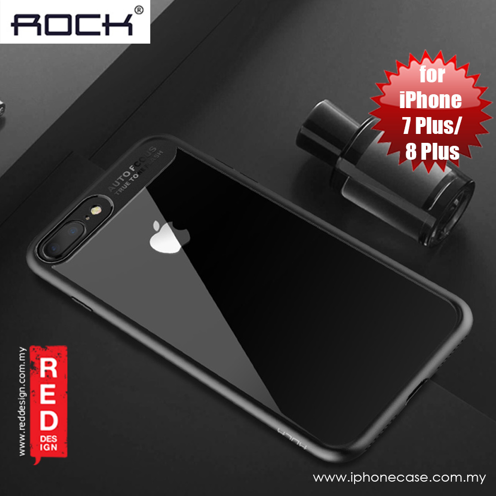 Picture of Rock Clarity Series Protection Case for Apple iPhone 7 Plus iPhone 8 Plus 5.5 (Black) Apple iPhone 8 Plus- Apple iPhone 8 Plus Cases, Apple iPhone 8 Plus Covers, iPad Cases and a wide selection of Apple iPhone 8 Plus Accessories in Malaysia, Sabah, Sarawak and Singapore