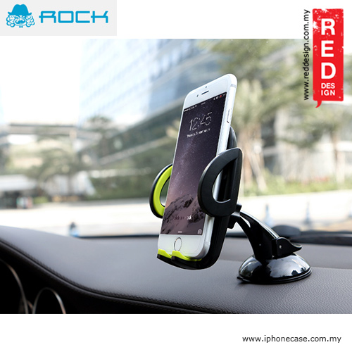 Picture of Rock Deluxe Dashboard and Windscreen Car Phone Holder - Grey