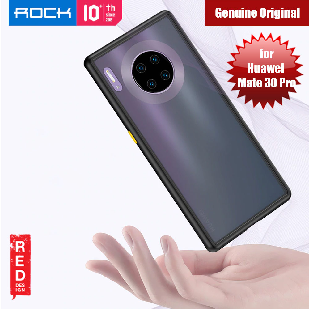 Picture of Rock Guard Pro Series Drop Protection Case for Huawei Mate 30 Pro (Matte Black) Huawei Mate 30 Pro- Huawei Mate 30 Pro Cases, Huawei Mate 30 Pro Covers, iPad Cases and a wide selection of Huawei Mate 30 Pro Accessories in Malaysia, Sabah, Sarawak and Singapore
