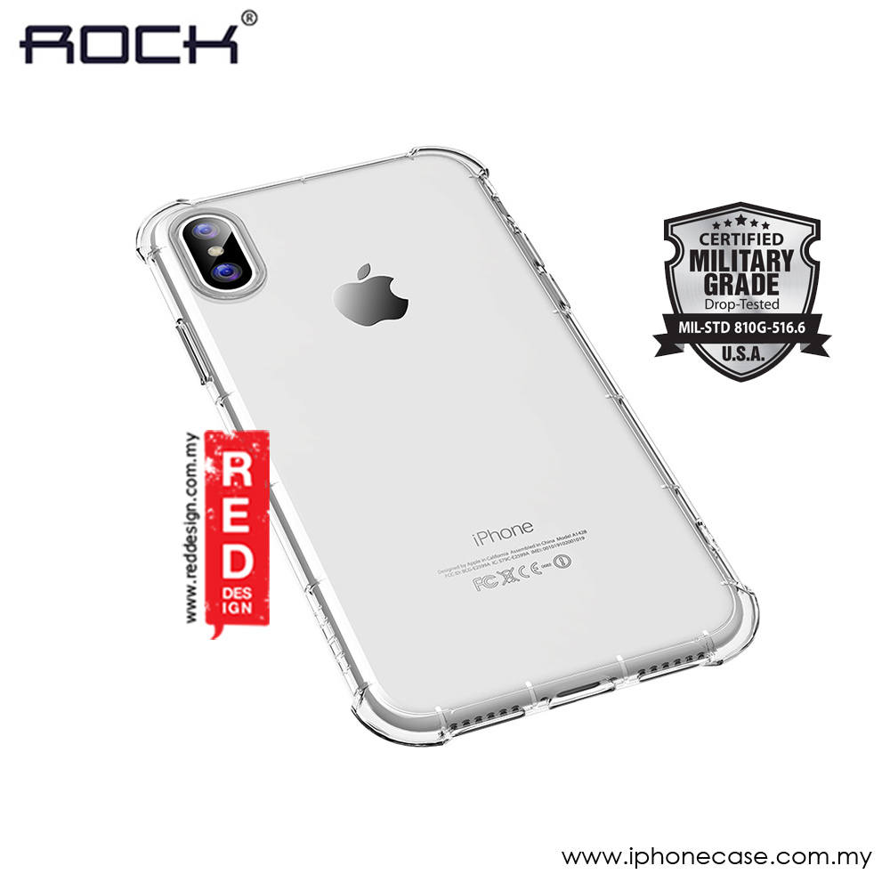 Picture of Rock Fence S Series Soft TPU Shockproof Drop Protection Case for Apple iPhone X (Clear) Apple iPhone X- Apple iPhone X Cases, Apple iPhone X Covers, iPad Cases and a wide selection of Apple iPhone X Accessories in Malaysia, Sabah, Sarawak and Singapore