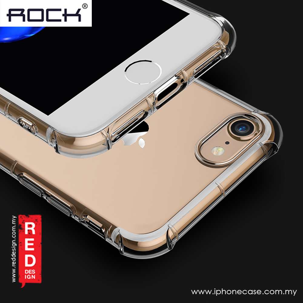 Picture of Apple iPhone 8 Case | Rock Fence S Series Drop Proof Protection Case for Apple iPhone 7 iPhone 8 4.7 (Clear)