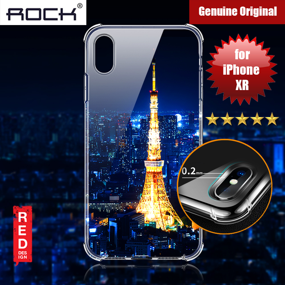Picture of Rock Fence S Series Drop Protection Camera Lens Protection Case for iPhone XR (Clear) Apple iPhone XR- Apple iPhone XR Cases, Apple iPhone XR Covers, iPad Cases and a wide selection of Apple iPhone XR Accessories in Malaysia, Sabah, Sarawak and Singapore