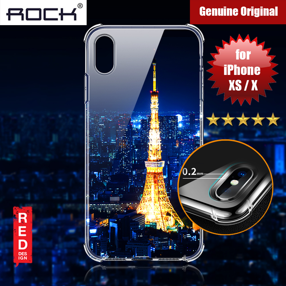 Picture of Rock Fence S Series Drop Protection Camera Lens Protection Case for iPhone XS iPhone X (Clear) Apple iPhone XS- Apple iPhone XS Cases, Apple iPhone XS Covers, iPad Cases and a wide selection of Apple iPhone XS Accessories in Malaysia, Sabah, Sarawak and Singapore