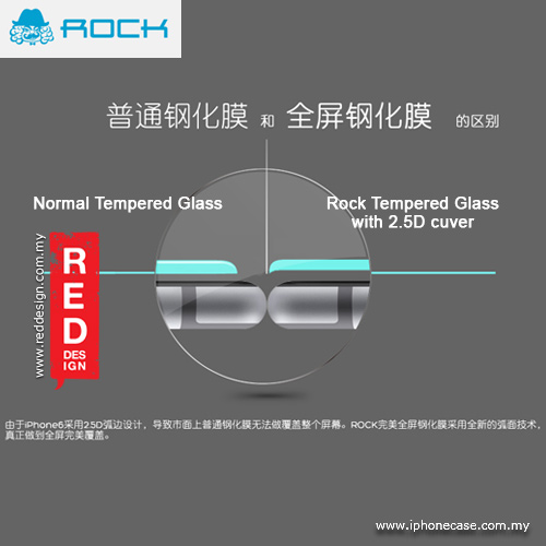 Picture of Rock Full Screen Tempered Glass for iPhone 6 Plus 5.5 - 0.3mm 2.5D Black Malaysia Singapore: Apple iPhone 6 Plus 5.5- Apple iPhone 6 Plus 5.5 Cases, Apple iPhone 6 Plus 5.5 Covers, iPad Cases and a wide selection of Apple iPhone 6 Plus 5.5 Accessories in Malaysia, Sabah, Sarawak and Singapore