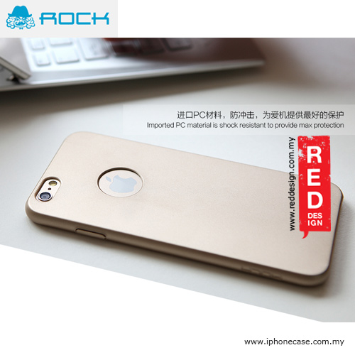 Picture of Rock Glory Ultra Slim Back Cover Hard Case for iPhone 6 4.7 - Champagne Gold Malaysia Singapore: Apple iPhone 6 4.7- Apple iPhone 6 4.7 Cases, Apple iPhone 6 4.7 Covers, iPad Cases and a wide selection of Apple iPhone 6 4.7 Accessories in Malaysia, Sabah, Sarawak and Singapore