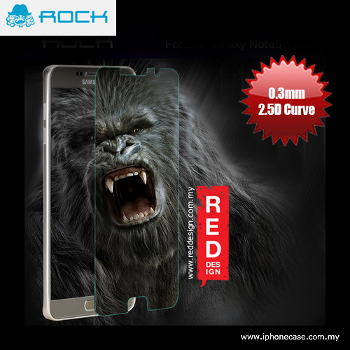 Picture of Rock Ultra Thin Tempered Glass for Galaxy Note 5- 0.3mm 2.5D Curve Samsung Galaxy Note 5- Samsung Galaxy Note 5 Cases, Samsung Galaxy Note 5 Covers, iPad Cases and a wide selection of Samsung Galaxy Note 5 Accessories in Malaysia, Sabah, Sarawak and Singapore