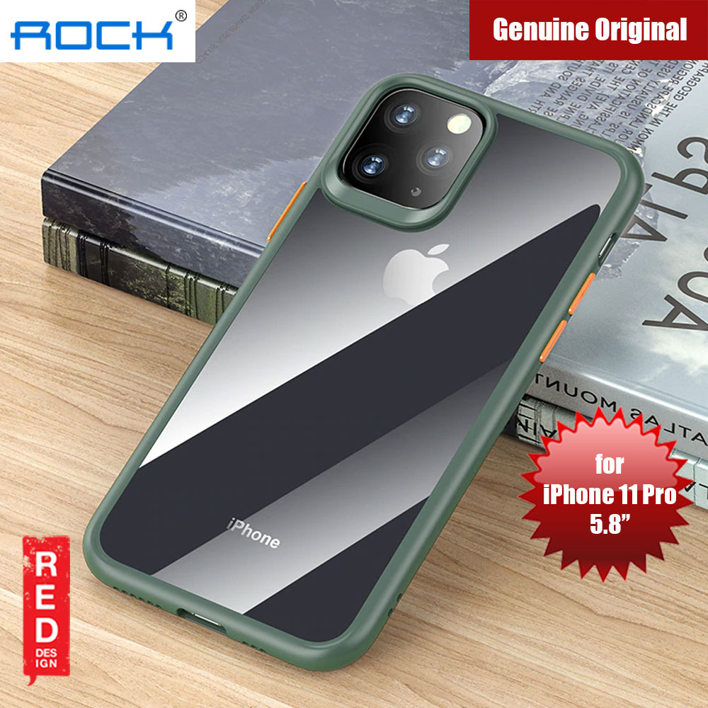 Picture of Rock Guard Pro Series Drop Protection Case for iPhone 11 Pro 5.8 (Clear Green) Apple iPhone 11 Pro 5.8- Apple iPhone 11 Pro 5.8 Cases, Apple iPhone 11 Pro 5.8 Covers, iPad Cases and a wide selection of Apple iPhone 11 Pro 5.8 Accessories in Malaysia, Sabah, Sarawak and Singapore