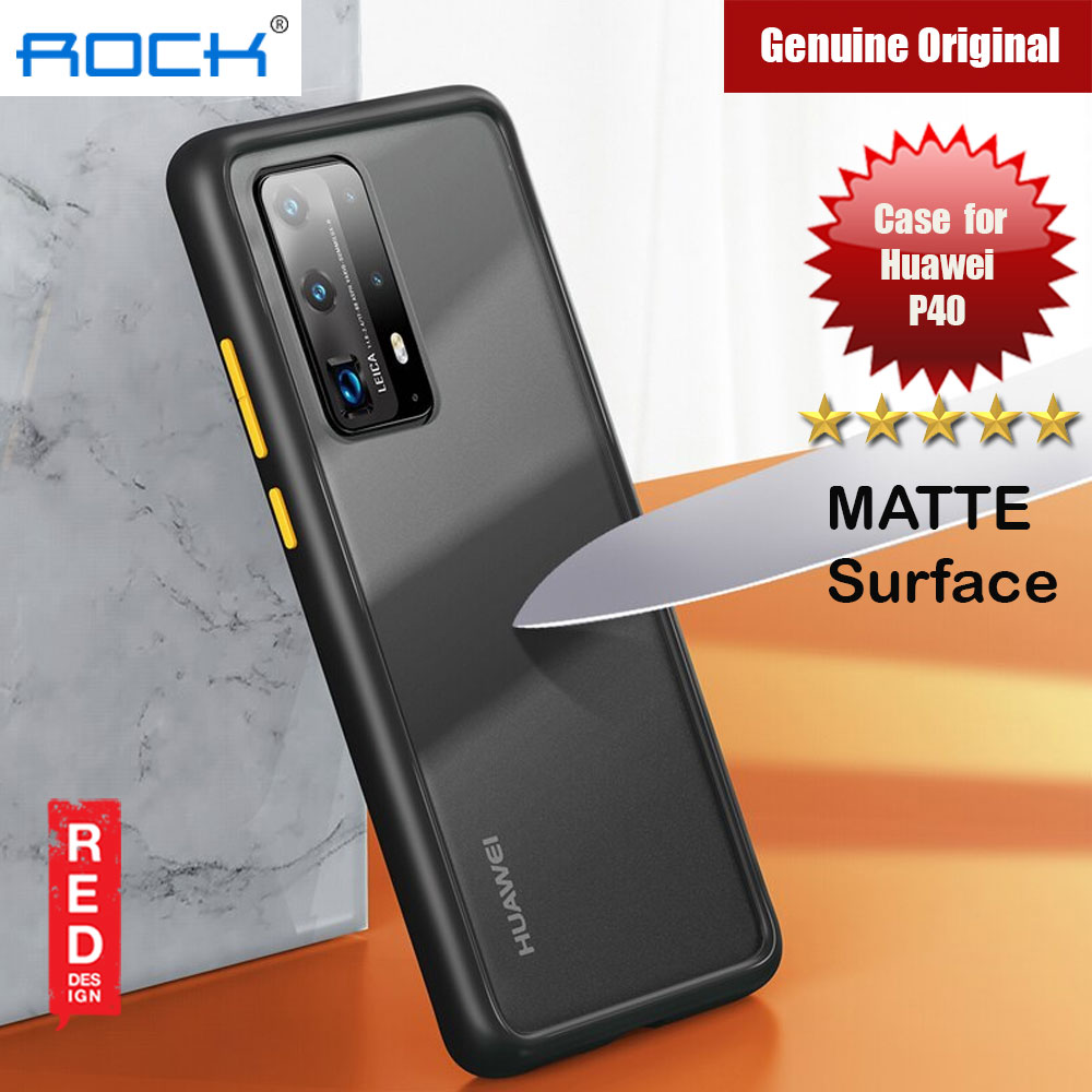 Picture of Rock Guard Pro Series Drop Protection Case for Huawei P40 (Matte Black) Huawei P40- Huawei P40 Cases, Huawei P40 Covers, iPad Cases and a wide selection of Huawei P40 Accessories in Malaysia, Sabah, Sarawak and Singapore