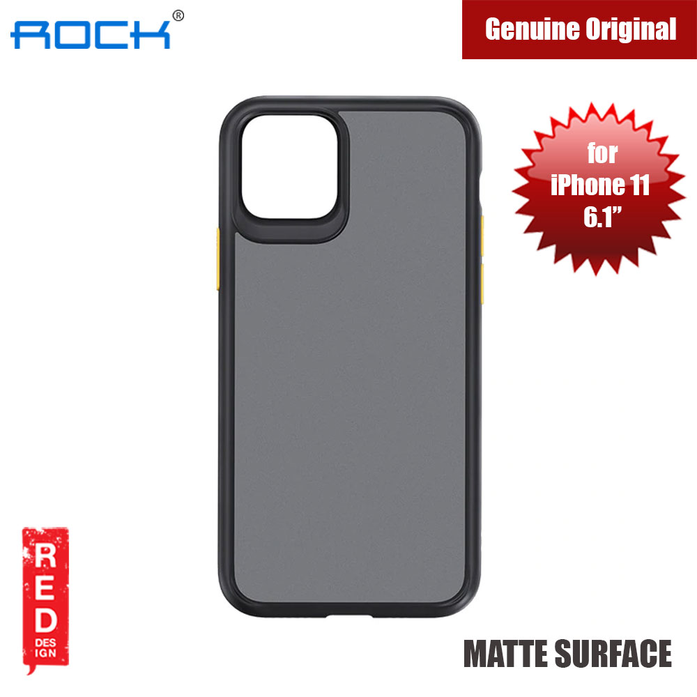 Picture of Rock Guard Pro Series Drop Protection Case for iPhone 11 6.1 (Matte Black) Apple iPhone 11 6.1- Apple iPhone 11 6.1 Cases, Apple iPhone 11 6.1 Covers, iPad Cases and a wide selection of Apple iPhone 11 6.1 Accessories in Malaysia, Sabah, Sarawak and Singapore