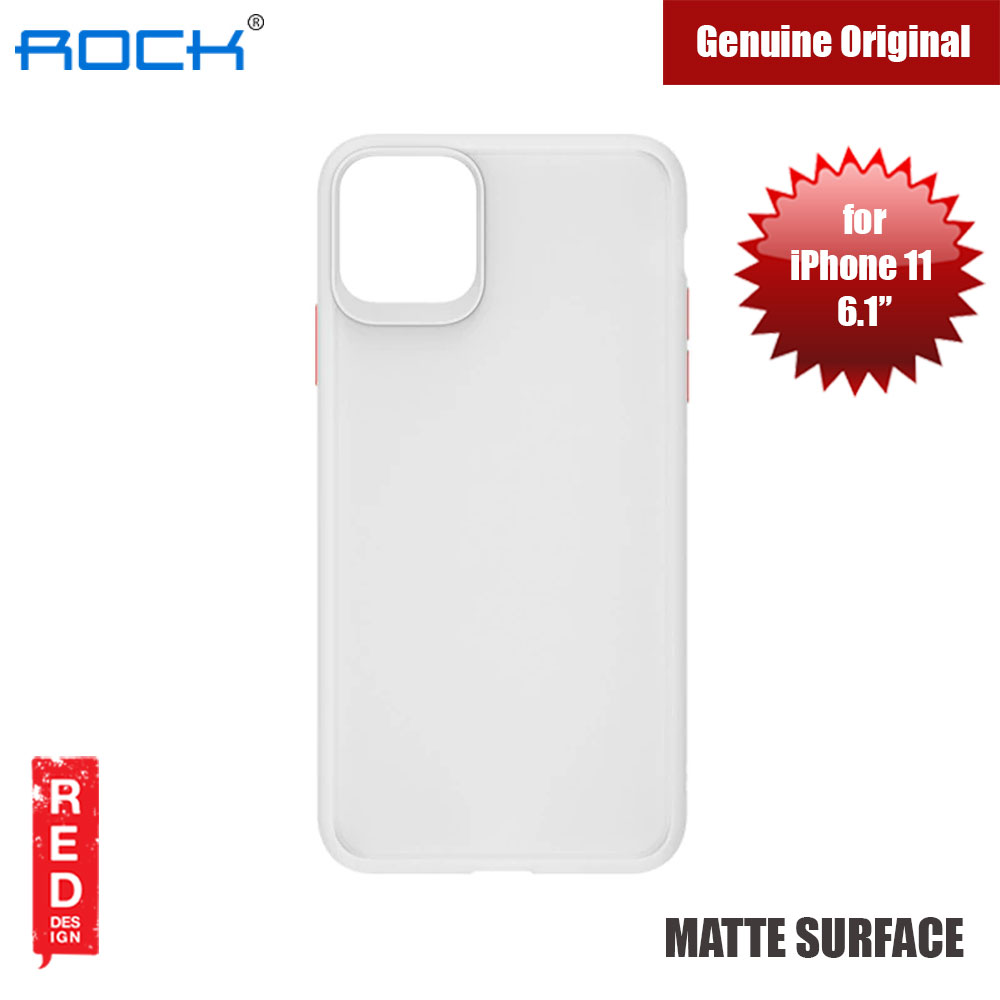 Picture of Rock Guard Pro Series Drop Protection Case for iPhone 11 6.1 (Matte Clear) Apple iPhone 11 6.1- Apple iPhone 11 6.1 Cases, Apple iPhone 11 6.1 Covers, iPad Cases and a wide selection of Apple iPhone 11 6.1 Accessories in Malaysia, Sabah, Sarawak and Singapore