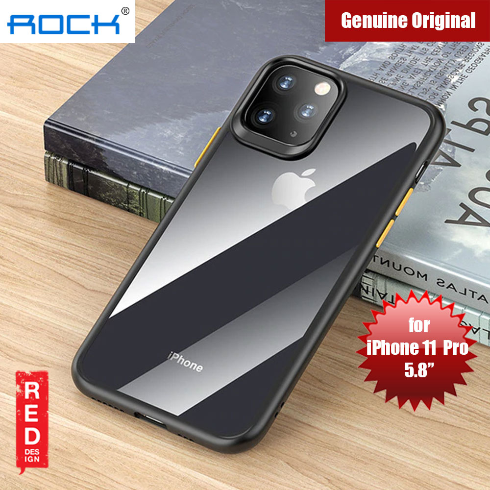 Picture of Rock Guard Pro Series Drop Protection Case for iPhone 11 Pro 5.8 (Clear Black) Apple iPhone 11 Pro 5.8- Apple iPhone 11 Pro 5.8 Cases, Apple iPhone 11 Pro 5.8 Covers, iPad Cases and a wide selection of Apple iPhone 11 Pro 5.8 Accessories in Malaysia, Sabah, Sarawak and Singapore