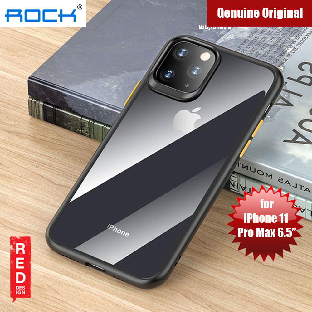 Picture of Rock Guard Pro Series Drop Protection Case for iPhone 11 Pro Max 6.5 (Clear Black) Apple iPhone 11 Pro Max 6.5- Apple iPhone 11 Pro Max 6.5 Cases, Apple iPhone 11 Pro Max 6.5 Covers, iPad Cases and a wide selection of Apple iPhone 11 Pro Max 6.5 Accessories in Malaysia, Sabah, Sarawak and Singapore