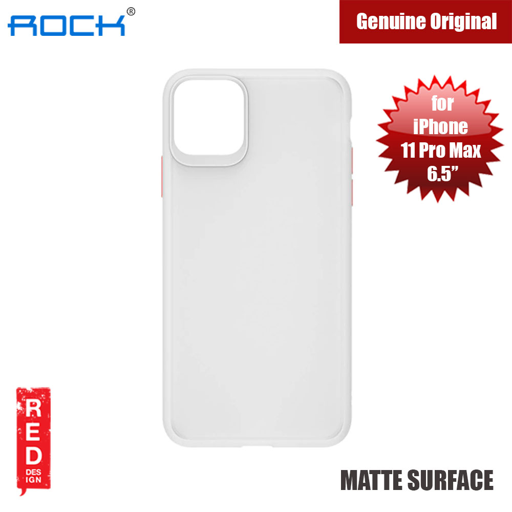 Picture of Rock Guard Pro Series Drop Protection Case for iPhone 11 Pro Max 6.5 (Matte Clear) Apple iPhone 11 Pro Max 6.5- Apple iPhone 11 Pro Max 6.5 Cases, Apple iPhone 11 Pro Max 6.5 Covers, iPad Cases and a wide selection of Apple iPhone 11 Pro Max 6.5 Accessories in Malaysia, Sabah, Sarawak and Singapore