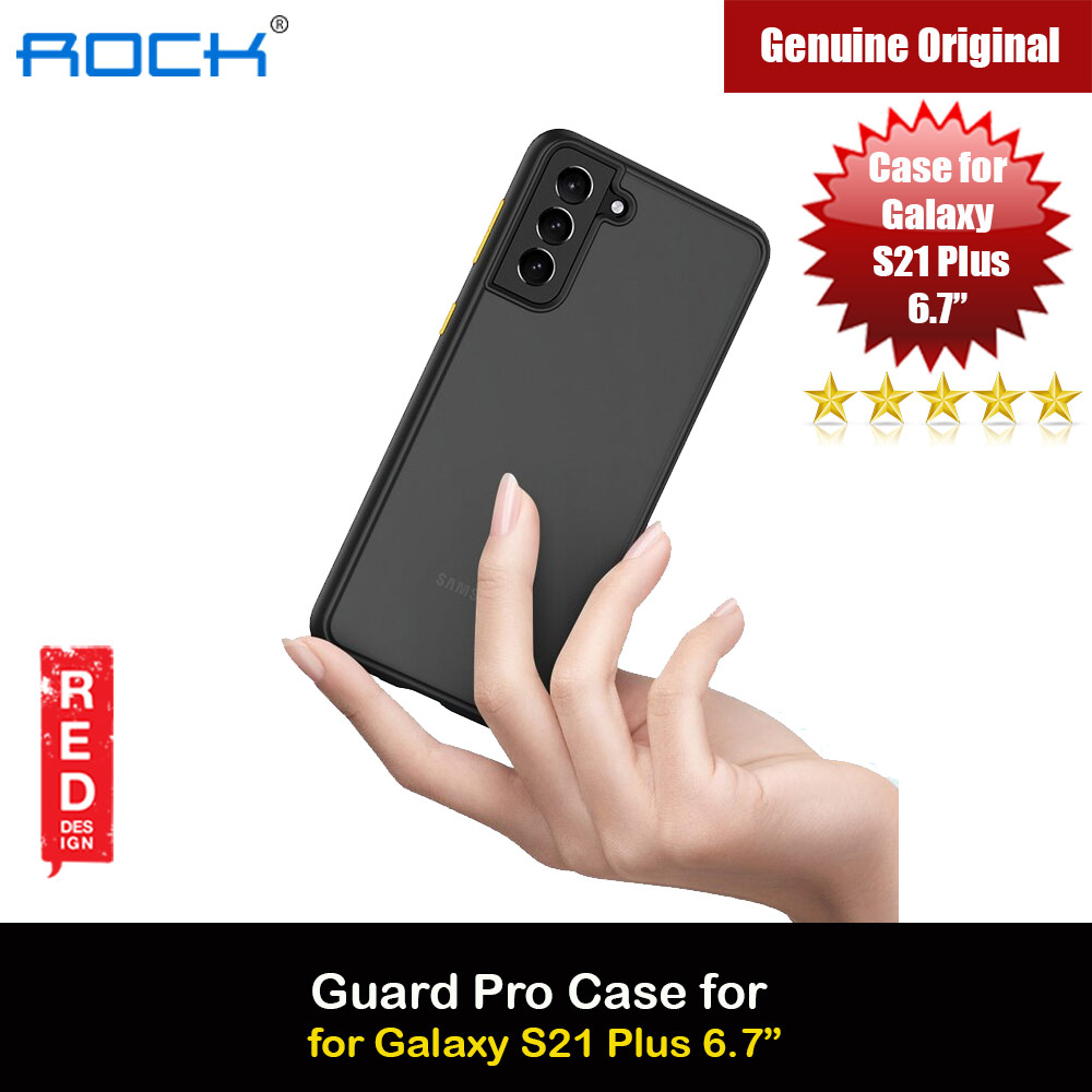 Picture of Rock Guard Pro Series Drop Protection Case for Samsung Galaxy S21 Plus 6.7 (Matte Black) Samsung Galaxy S21 Plus 6.7- Samsung Galaxy S21 Plus 6.7 Cases, Samsung Galaxy S21 Plus 6.7 Covers, iPad Cases and a wide selection of Samsung Galaxy S21 Plus 6.7 Accessories in Malaysia, Sabah, Sarawak and Singapore