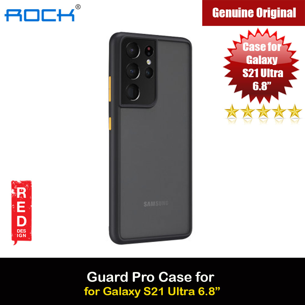 Picture of Rock Guard Pro Series Drop Protection Case for Samsung Galaxy S21 Ultra 6.8 (Matte Black) Samsung Galaxy S21 Ultra 6.8- Samsung Galaxy S21 Ultra 6.8 Cases, Samsung Galaxy S21 Ultra 6.8 Covers, iPad Cases and a wide selection of Samsung Galaxy S21 Ultra 6.8 Accessories in Malaysia, Sabah, Sarawak and Singapore