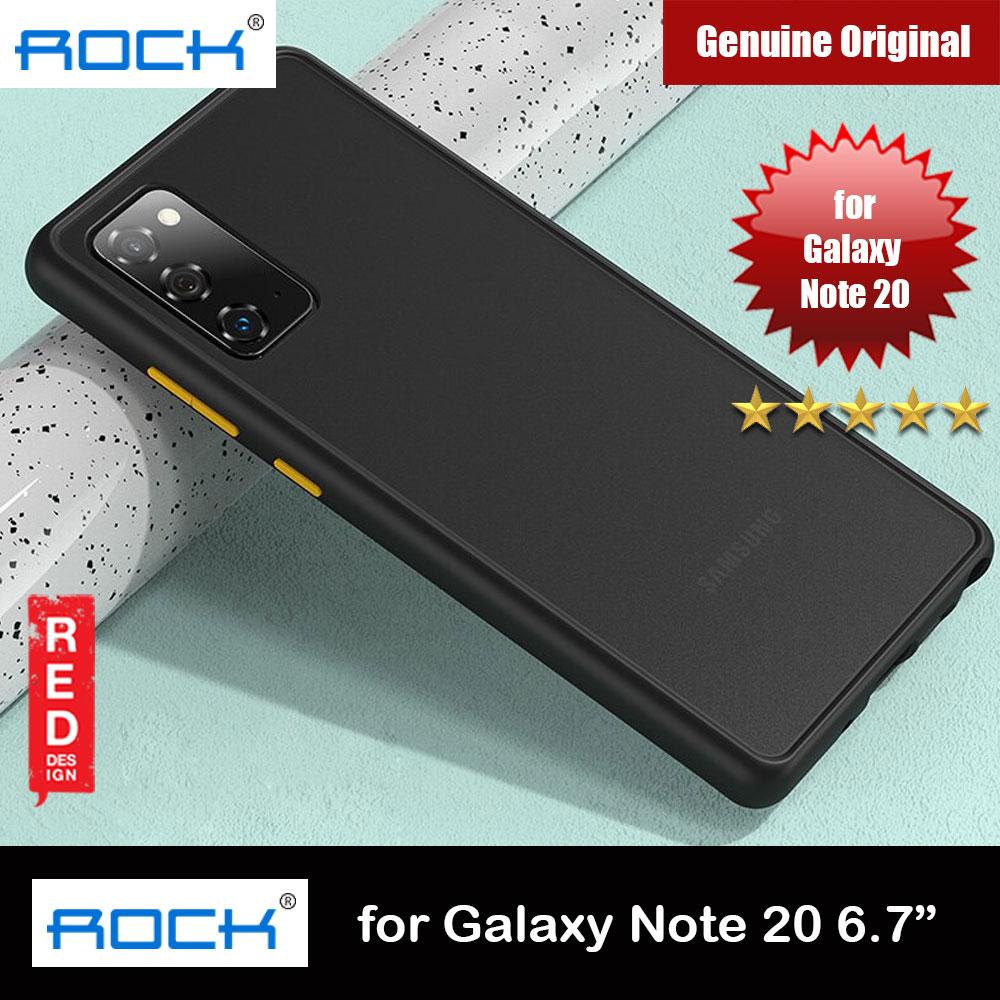 Picture of Rock Guard Pro Series Drop Protection Case for Samsung Galaxy Note 20 6.7 (Matte Black) Samsung Galaxy Note 20- Samsung Galaxy Note 20 Cases, Samsung Galaxy Note 20 Covers, iPad Cases and a wide selection of Samsung Galaxy Note 20 Accessories in Malaysia, Sabah, Sarawak and Singapore