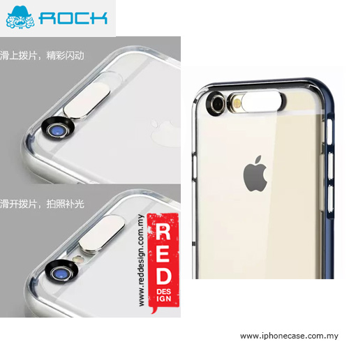 c36d8ca2b81 Picture of Rock Light Tube Upgraded Series Back Cover Case for iPhone 6 Plus  5.5 -