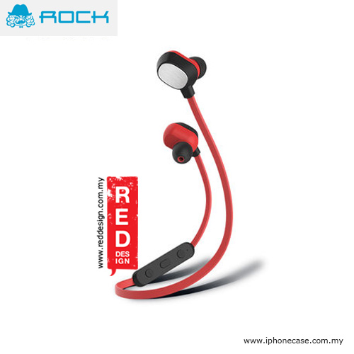 Picture of Rock Mumo Bluetooth In Earphone with Mic - Red Red Design- Red Design Cases, Red Design Covers, iPad Cases and a wide selection of Red Design Accessories in Malaysia, Sabah, Sarawak and Singapore
