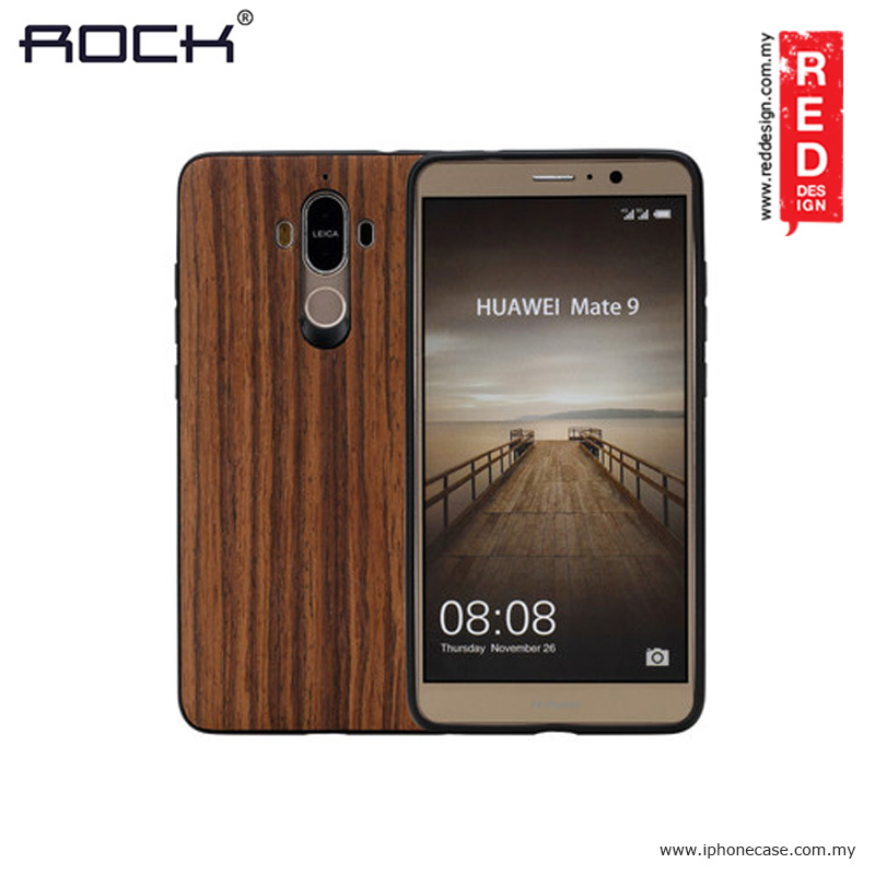 Picture of Rock Origin Series Wood Case for Huawei Mate 9 Huawei Mate 9- Huawei Mate 9 Cases, Huawei Mate 9 Covers, iPad Cases and a wide selection of Huawei Mate 9 Accessories in Malaysia, Sabah, Sarawak and Singapore