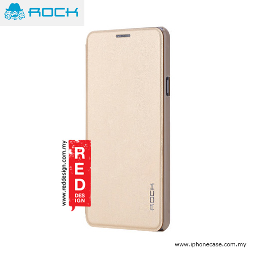 Picture of Rock Touch Series Flip Cover Case for Galaxy A7 A7100 2016 Edition - Gold Samsung Galaxy A7 A7100- Samsung Galaxy A7 A7100 Cases, Samsung Galaxy A7 A7100 Covers, iPad Cases and a wide selection of Samsung Galaxy A7 A7100 Accessories in Malaysia, Sabah, Sarawak and Singapore