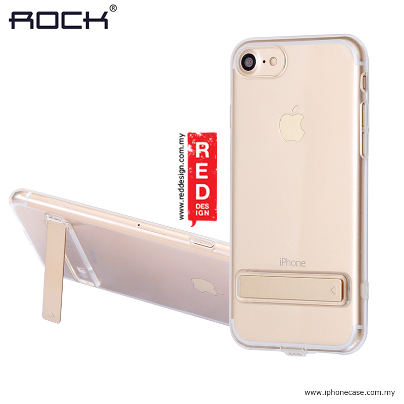 Picture of Rock TPU Slim Jacket with Kicstand for Apple iPhone 7 iPhone 8 4.7 - Clear iPhone Cases - iPhone 11, iPhone 11 Pro, iPhone 11 Pro Max, iPhone 8, iPhone 8 Plus, iPhone XS Max, iPhone XR Cases Malaysia, Galaxy Note 10 Plus Cases Malaysia,iPhone 11 Pro Max Cases Malaysia, iPad Air ,iPad Pro Cases and a wide selection of Accessories in Malaysia, Sabah, Sarawak and Singapore.