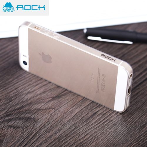 Picture of Rock Ultra Thin Series Soft TPU 0.6mm Case for iPhone 5S iPhone 5 - Transparent Malaysia Singapore: Apple iPhone 5S- Apple iPhone 5S Cases, Apple iPhone 5S Covers, iPad Cases and a wide selection of Apple iPhone 5S Accessories in Malaysia, Sabah, Sarawak and Singapore