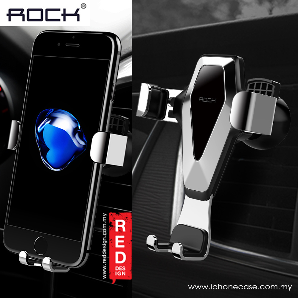 Picture of Rock Universal Gravity Air Vent Car Mount II support smartphone up to 6 inches (Grey)