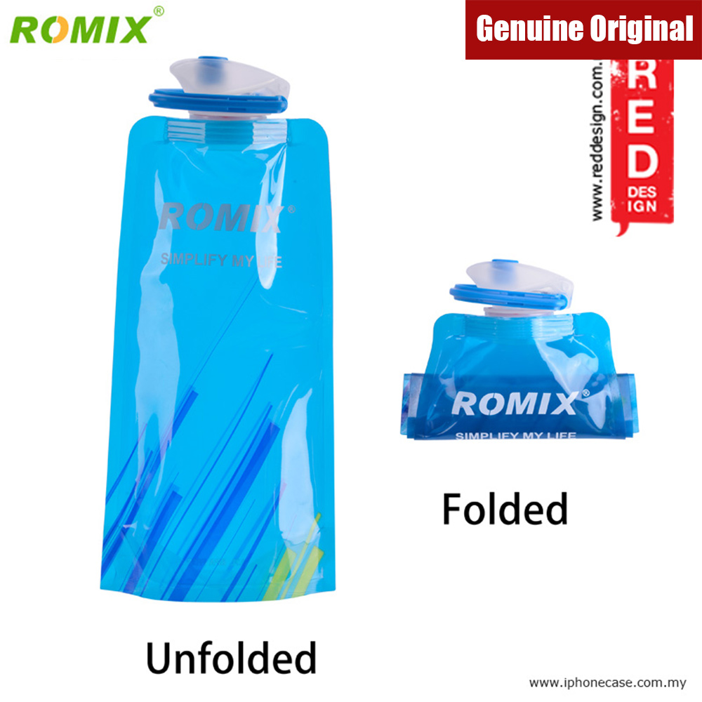 Picture of Romix Foldable Bottle BPA Free 700ml (Blue) Red Design- Red Design Cases, Red Design Covers, iPad Cases and a wide selection of Red Design Accessories in Malaysia, Sabah, Sarawak and Singapore