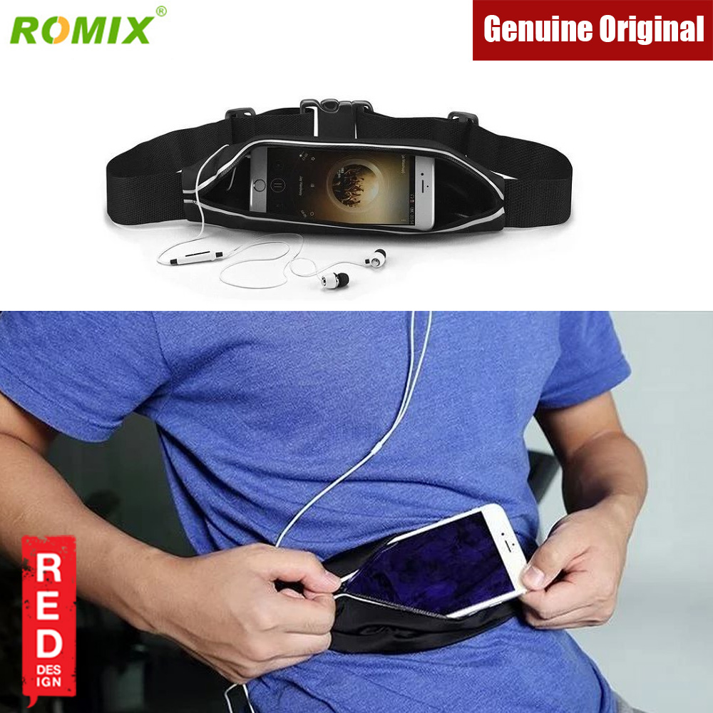 Picture of Romix Adjustable Sport Waist Running Belt Climbing Belt Cycling Belt (Black) Red Design- Red Design Cases, Red Design Covers, iPad Cases and a wide selection of Red Design Accessories in Malaysia, Sabah, Sarawak and Singapore