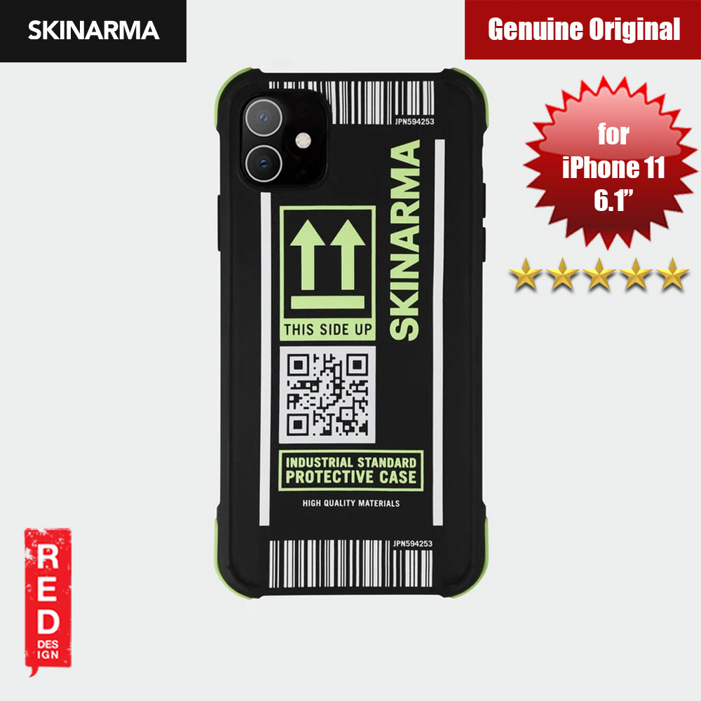 Picture of Skinarma Matte Drop Protection Trendy Fashion Design Snap Back Case for Apple iPhone 11 6.1 (KOZUTSUMI NEON GREEN) Apple iPhone 11 6.1- Apple iPhone 11 6.1 Cases, Apple iPhone 11 6.1 Covers, iPad Cases and a wide selection of Apple iPhone 11 6.1 Accessories in Malaysia, Sabah, Sarawak and Singapore