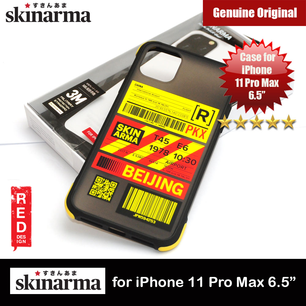 Picture of Skinarma Matte Drop Protection Snap Back Case Airport Boarding Pass Ticket Design for Apple iPhone 11 Pro Max 6.5 (Beijing) Apple iPhone 11 Pro Max 6.5- Apple iPhone 11 Pro Max 6.5 Cases, Apple iPhone 11 Pro Max 6.5 Covers, iPad Cases and a wide selection of Apple iPhone 11 Pro Max 6.5 Accessories in Malaysia, Sabah, Sarawak and Singapore
