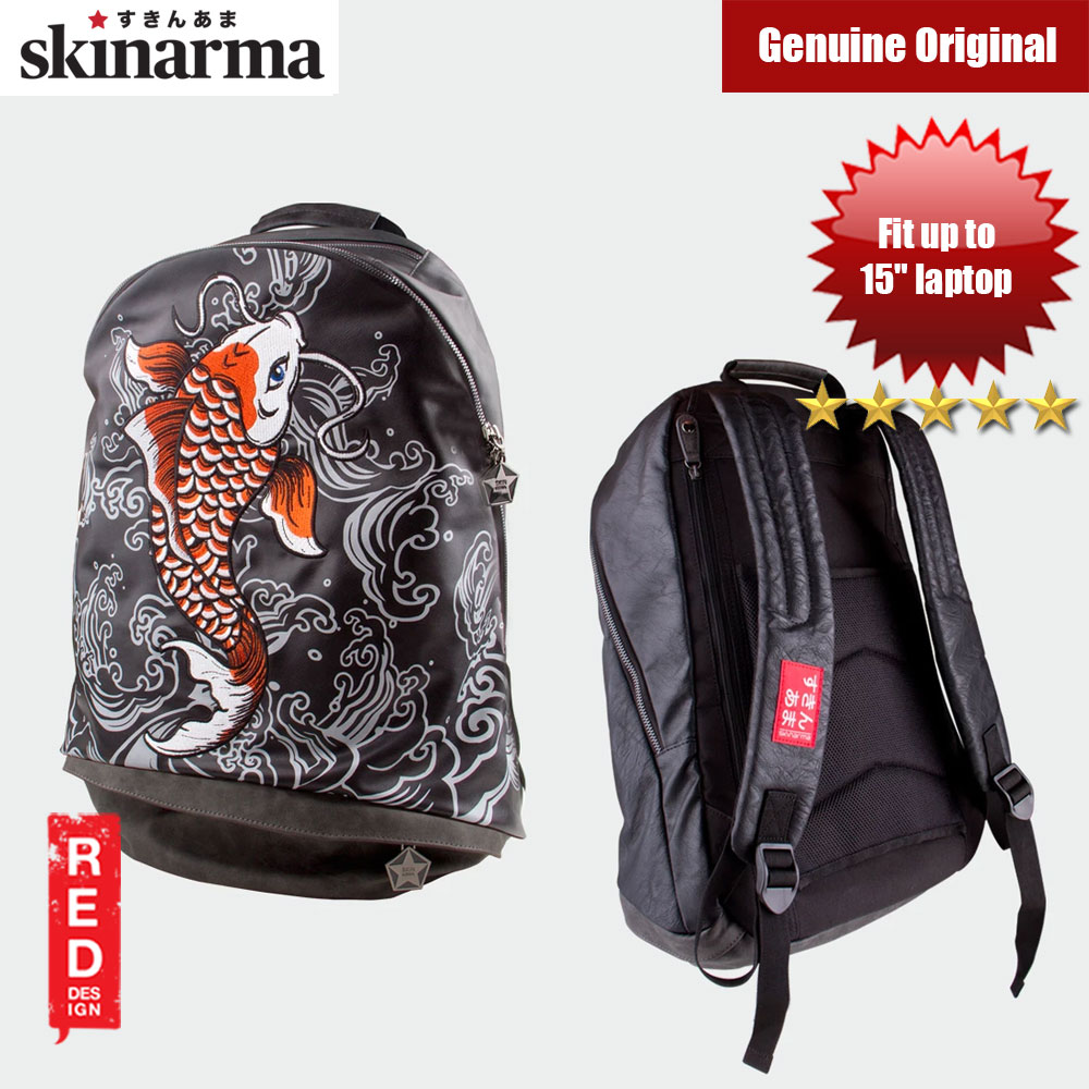Picture of Skinarma Versatlie Day Pack Fashion Laptop Backpack up to 14 inches Laptop (Irezumi Showa) Red Design- Red Design Cases, Red Design Covers, iPad Cases and a wide selection of Red Design Accessories in Malaysia, Sabah, Sarawak and Singapore