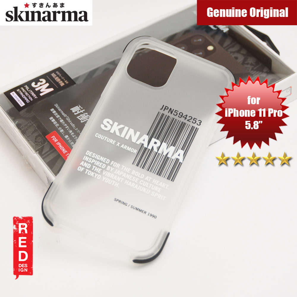 Picture of Skinarma Matte Drop Protection Snap Back Case for Apple iPhone 11 Pro 5.8 (Bakodo Black) Apple iPhone 11 Pro 5.8- Apple iPhone 11 Pro 5.8 Cases, Apple iPhone 11 Pro 5.8 Covers, iPad Cases and a wide selection of Apple iPhone 11 Pro 5.8 Accessories in Malaysia, Sabah, Sarawak and Singapore