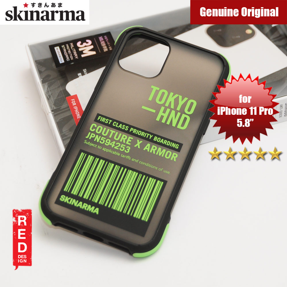 Picture of Skinarma Matte Drop Protection Snap Back Case for Apple iPhone 11 Pro 5.8 (Bando Sheer Green) Apple iPhone 11 Pro 5.8- Apple iPhone 11 Pro 5.8 Cases, Apple iPhone 11 Pro 5.8 Covers, iPad Cases and a wide selection of Apple iPhone 11 Pro 5.8 Accessories in Malaysia, Sabah, Sarawak and Singapore