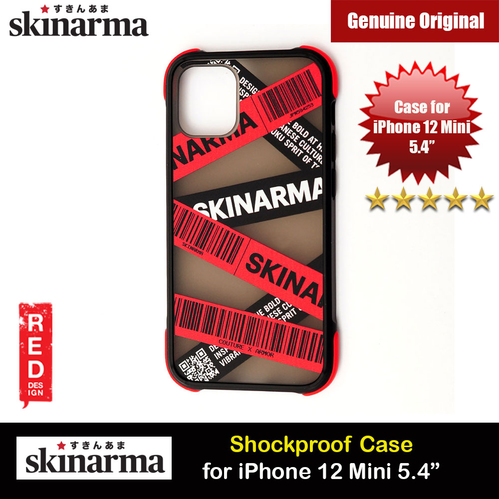 Picture of Skinarma Shock Proof Back Case Designed Drop Protection for iPhone 12 Mini 5.4 (Kakudo Red) Apple iPhone 12 mini 5.4- Apple iPhone 12 mini 5.4 Cases, Apple iPhone 12 mini 5.4 Covers, iPad Cases and a wide selection of Apple iPhone 12 mini 5.4 Accessories in Malaysia, Sabah, Sarawak and Singapore